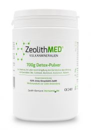 Zeolite MED® detox powder 700g, Medical device