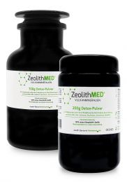 Zeolite MED® detox powder 900g in savings stack, Medical devices