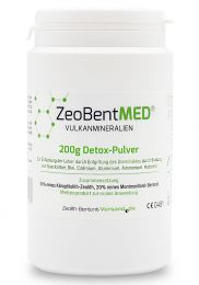ZeoBent MED® detox powder 200g, Medical device