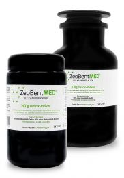 ZeoBent MED® detox powder 900g savings stack, Medical devices
