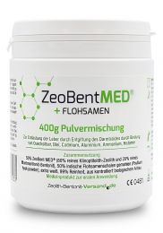 ZeoBent MED® + Psyllium seed, 400g powder mixture, Medical device