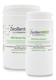 ZeoBent MED® 800 detox capsules savings stack, Medical devices