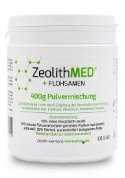 Zeolite MED® + Psyllium seed, 400g powder mixture, Medical device