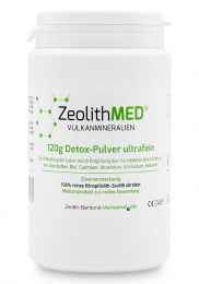 Zeolite MED® detox ultrafine powder 120g, Medical device