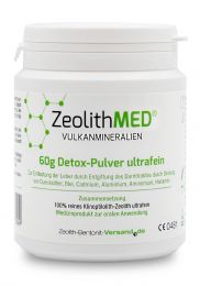 Zeolite MED® detox ultrafine powder 60g, Medical device